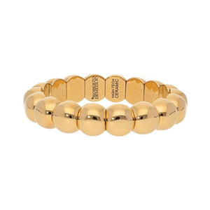 18k Yellow Gold Small Aura Stretch Bracelet