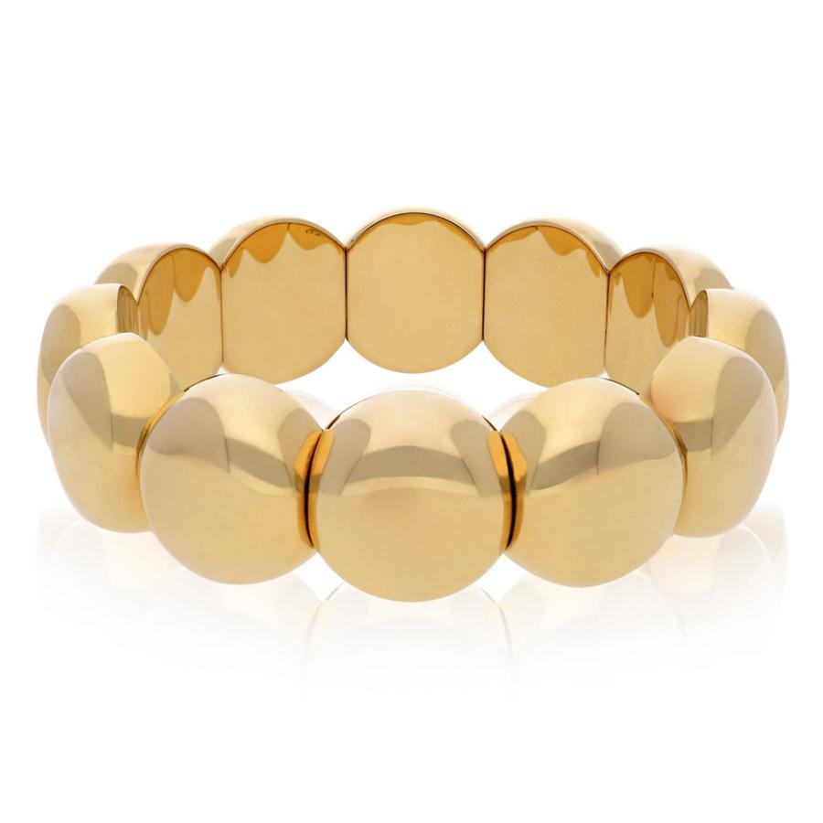 18k Yellow Gold Large Aura Bracelet