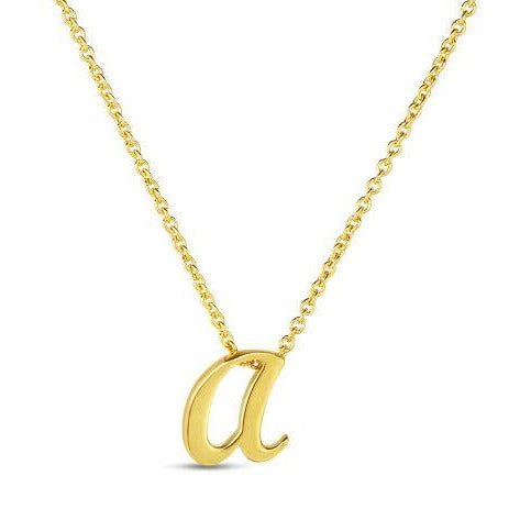 Roberto Coin 18k Yellow Gold A Pendant