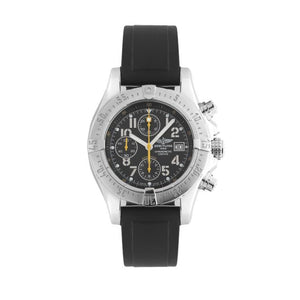 Breitling Limited Edition Super Avenger Skyland Code Yellow In Stainless Steel