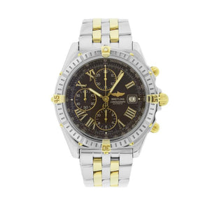 Breitling Crosswing In Stainless Steel & 18K Yellow Gold