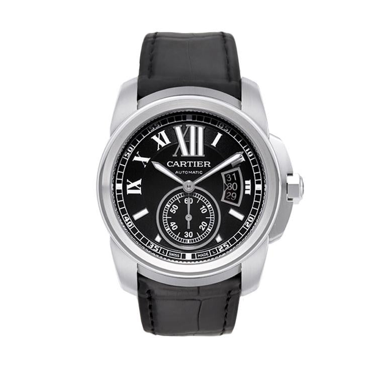 Cartier Calibre de Cartier in Stainless Steel