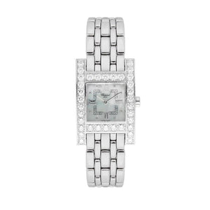 Chopard H Diamond In 18K White Gold