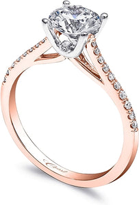 Coast Rose Gold Diamond Engagement Ring