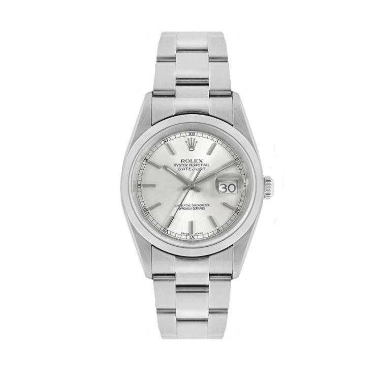 Rolex Datejust In Stainless Steel