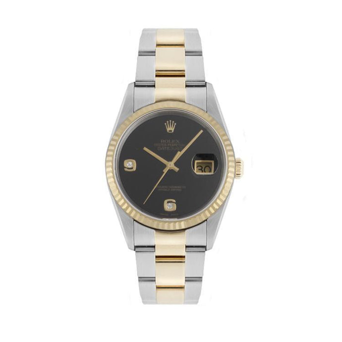 Rolex Datejust In Stainless Steel & 18K Yellow Gold