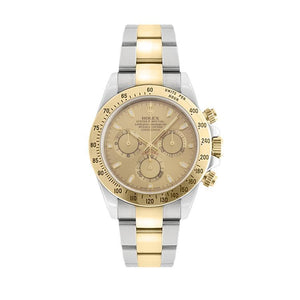 Pre-Owned Rolex Daytona In Stainless Steel & Yellow Gold