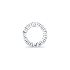 Round Brilliant Cut Diamond Eternity Ring - 6.50CTW G/SI1