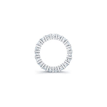 Load image into Gallery viewer, Asscher Cut Diamond Eternity Ring - 4.50CTW F/VS2