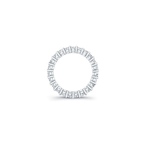 Emerald Cut Diamond Eternity Ring 4.40CTW F/VS2
