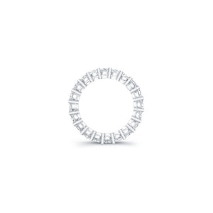 Emerald Cut Diamond Eternity Ring - 6.27CTW F/VS2