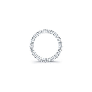 Radiant Cut Diamond Eternity Ring - 3.75CTW F/VS2