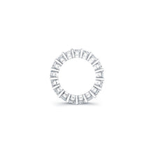 Load image into Gallery viewer, Princess Cut Diamond Eternity Ring 6.40CTW G/SI1
