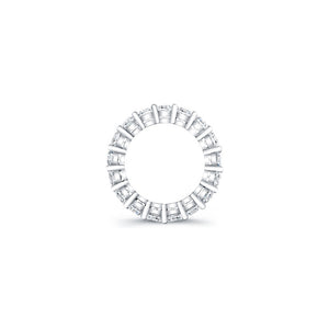 Princess Cut Diamond Eternity Ring 6.40CTW G/SI1