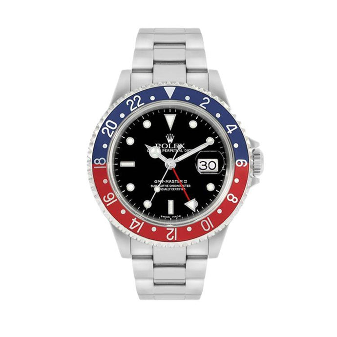Rolex GMT Master II In Stainless Steel
