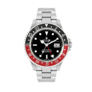 Pre-Owned Rolex GMT Master II In Stainless Steel