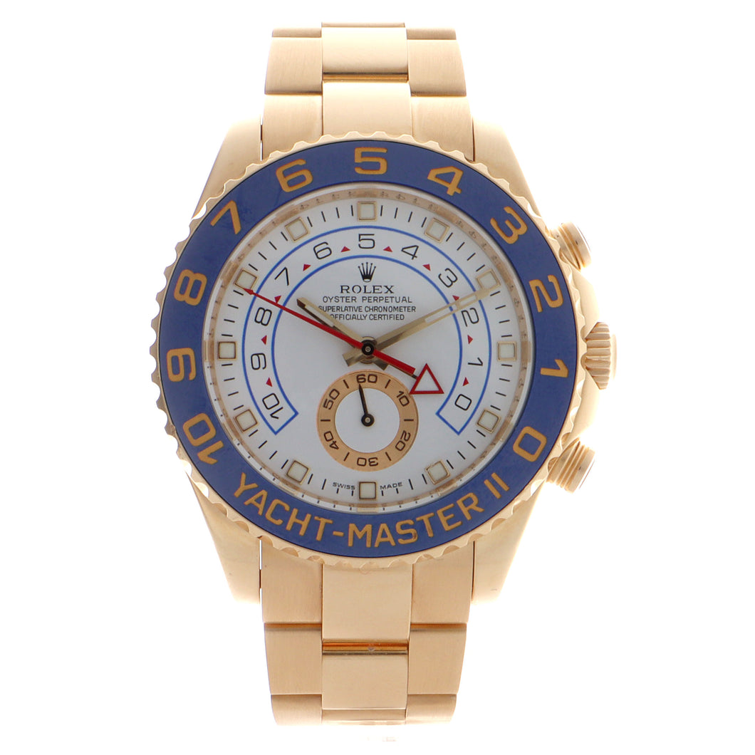 Pre-Owned 18k Yellow Gold Rolex Yacht-Master II - Model 116688