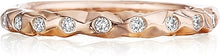 Load image into Gallery viewer, Henri Daussi Burnished Diamond Wedding Band