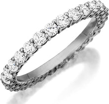 Load image into Gallery viewer, Henri Daussi Common Prong Diamond Band