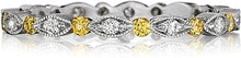 Load image into Gallery viewer, Henri Daussi Diamond Wedding Band