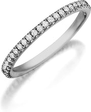 Henri Daussi Pave Diamond Band