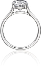 Henri Daussi Solitaire Engagement Ring