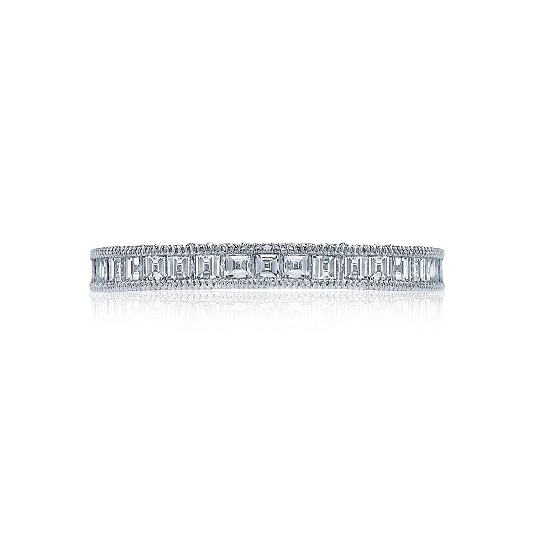 Tacori Channel-Set Asscher Cut Diamond Band