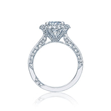 Tacori Double Halo Round Diamond Engagement Ring