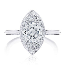 Load image into Gallery viewer, Tacori Inflori Halo Diamond Engagement Ring