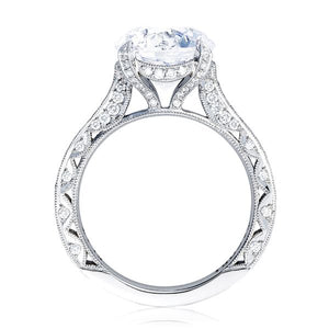 Tacori RoyalT Pave Diamond Engagement Ring