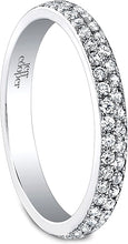Jeff Cooper Double Row Diamond Wedding Band
