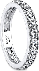 Jeff Cooper Pave Diamond Wedding Band
