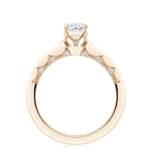 Tacori 14k Gold Pave Diamond Engagement Ring