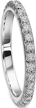 Load image into Gallery viewer, Precision Set French Pave Diamond Wedding Band