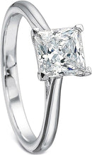 Precision Set Solitaire Diamond Engagement Ring