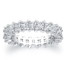 Princess Cut Diamond Eternity Ring - 3.15CTW G/SI1