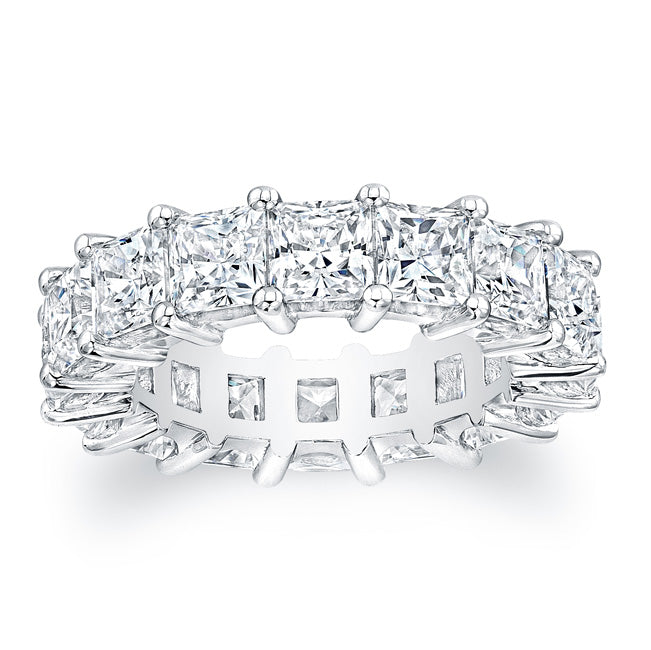 Princess Cut Diamond Eternity Ring 7.50CTW G/SI1