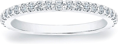 Prong-Set Diamond Wedding Band- .45ct tw