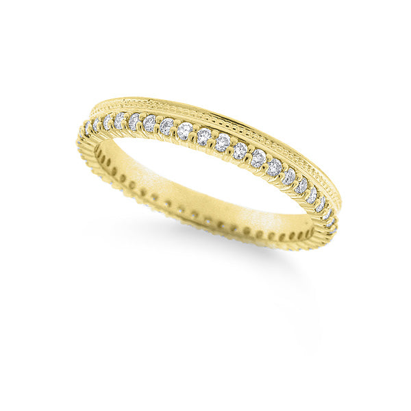 KC Designs Diamond Stackable Ring- .36cts