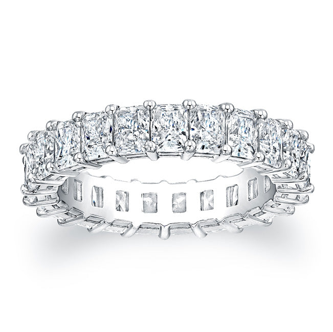Radiant Cut Diamond Eternity Ring - 4.40CTW F/VS2