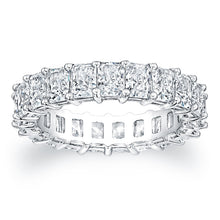 Load image into Gallery viewer, Radiant Cut Diamond Eternity Ring - 5.00CTW F/VS2