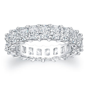Radiant Cut Diamond Eternity Ring - 5.00CTW F/VS2