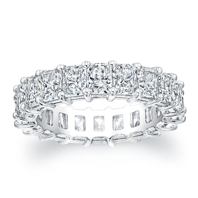 Radiant Cut Diamond Eternity Ring - 6.27CTW F/VS2