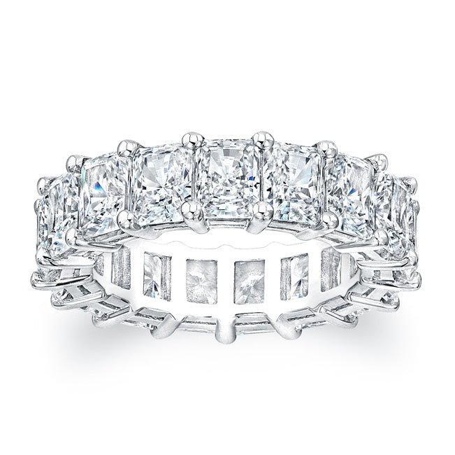 Radiant Cut Diamond Eternity Ring - 8.00CTW F/VS2