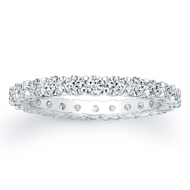 Round Brilliant Cut Diamond Eternity Ring - 2.10CTW G/SI1