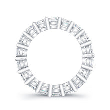 Load image into Gallery viewer, Round Brilliant Cut Diamond Eternity Ring - 4.95CTW G/SI1