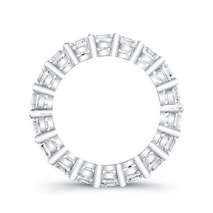 Round Brilliant Cut Diamond Eternity Ring - 4.00CTW G/SI1