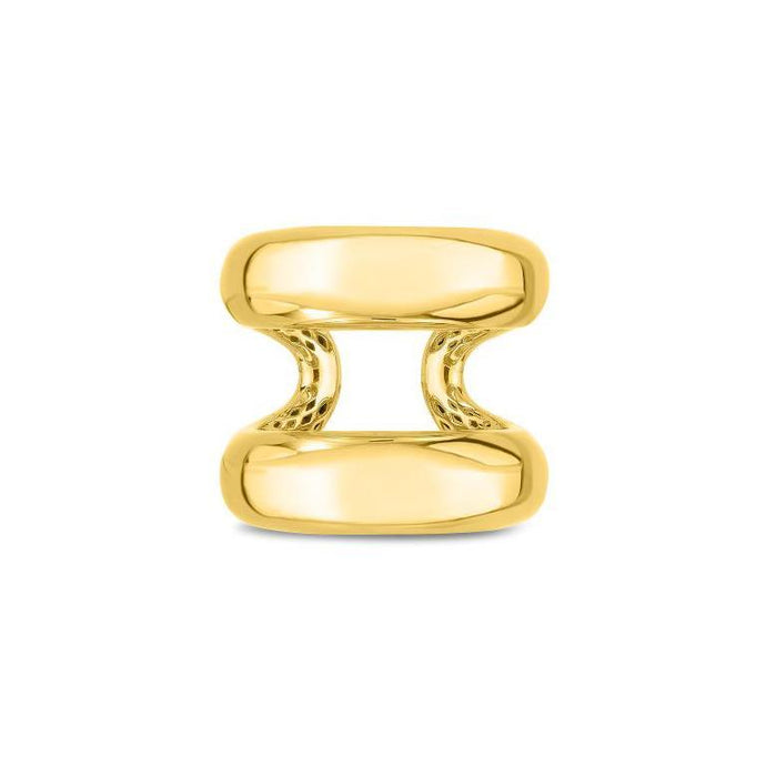 Roberto Coin 18k Yellow Gold Oro Classic Ring