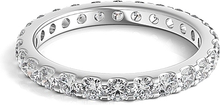 Load image into Gallery viewer, Scalloped Prong Round Diamond Eternity Ring 1.00ct tw