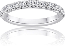 Load image into Gallery viewer, Signature Pave Set Diamond Wedding Band